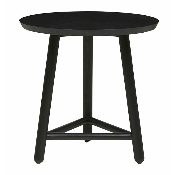 linea tri side table large charcoal