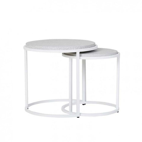 bondi nesting tables grey sand
