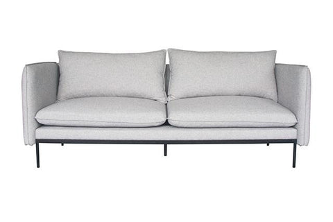 vittoria curve three seater sofa