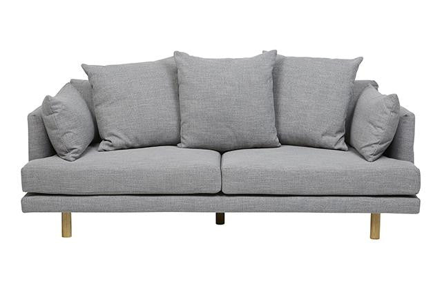 vittoria iris three seater sofa pavement