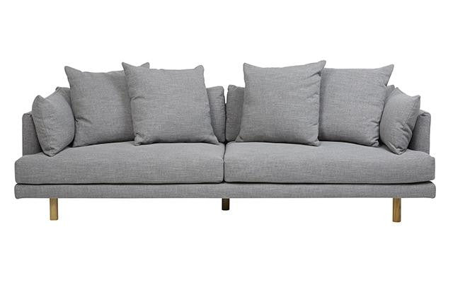 vittoria iris four seater sofa pavement