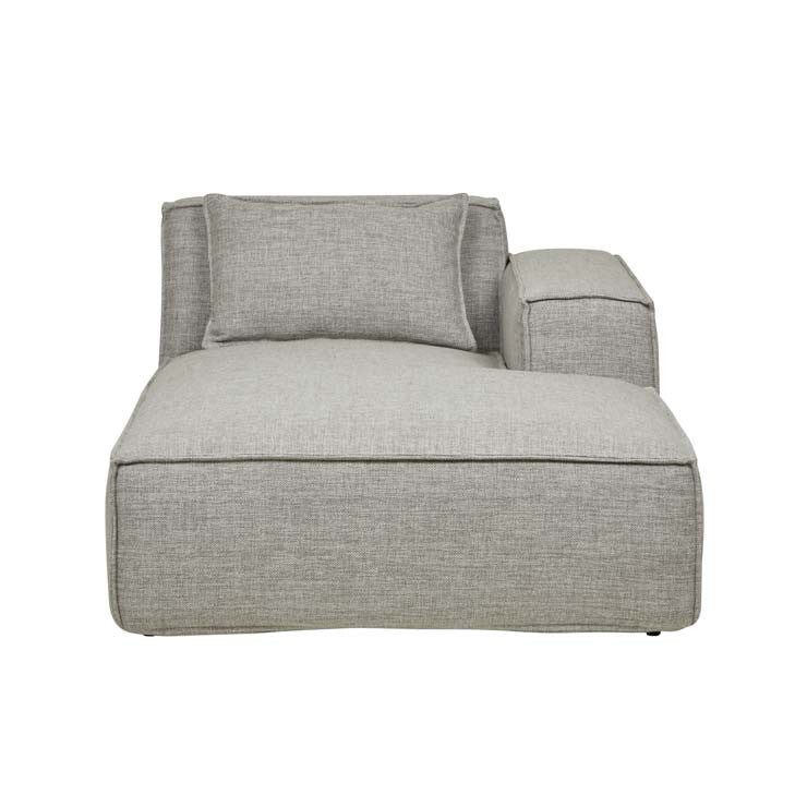 felix block right chaise cement