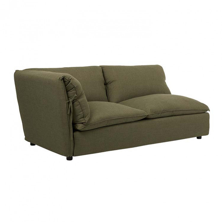 felix slouch right chaise moss weave