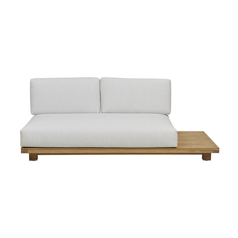 haven right arm sofa snow
