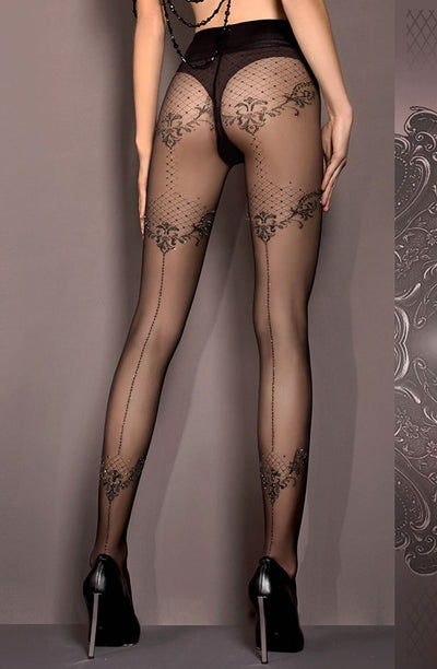 Ballerina 413 Tights Black - Divas Closet