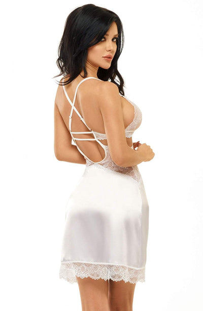 beauty night Beauty Night Chemise Adelaide White Chemise