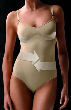 Control Body Strappy Body - Firm Support - Divas Closet