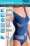 Control Body Shaping Swimming Costume - Divas Closet
