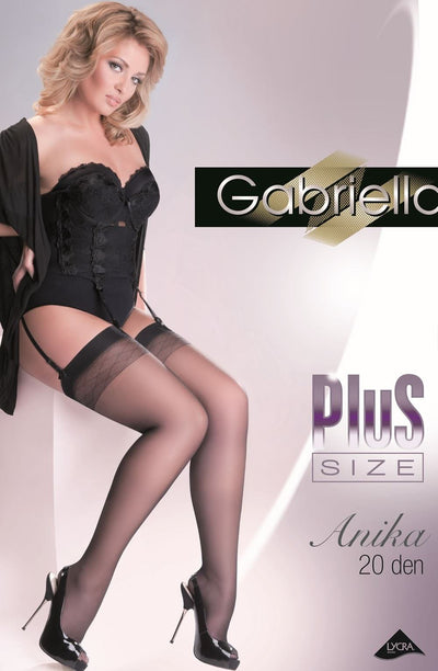 Gabriella Anika Stockings Plus - Divas Closet