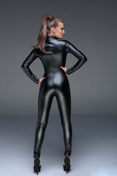 Power Wet Look Catsuit F149 by Noir Handmade