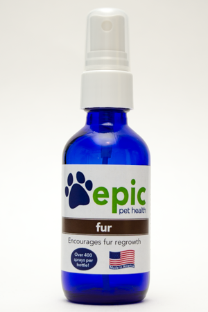 Fur - encourages fur regrowth in dogs and cats