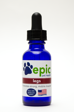 Legs - promotes strong muscles and joints in aging or sick pets