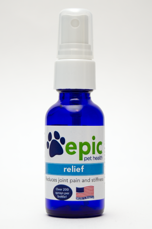 Relief - reduces pain and discomfort in older, sick or injured pets and promotes relaxation and good health