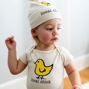Organic Cotton Baby Gift Set - Chick - Simply Chickie