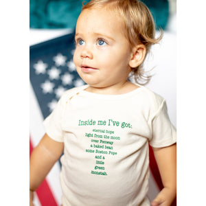 Organic cotton baby gift set - Boston - Simply Chickie