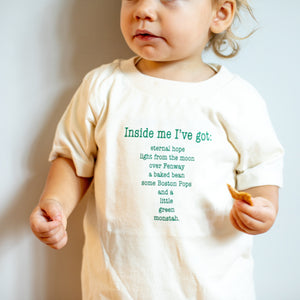 Organic cotton kids t-shirt - Boston - Simply Chickie
