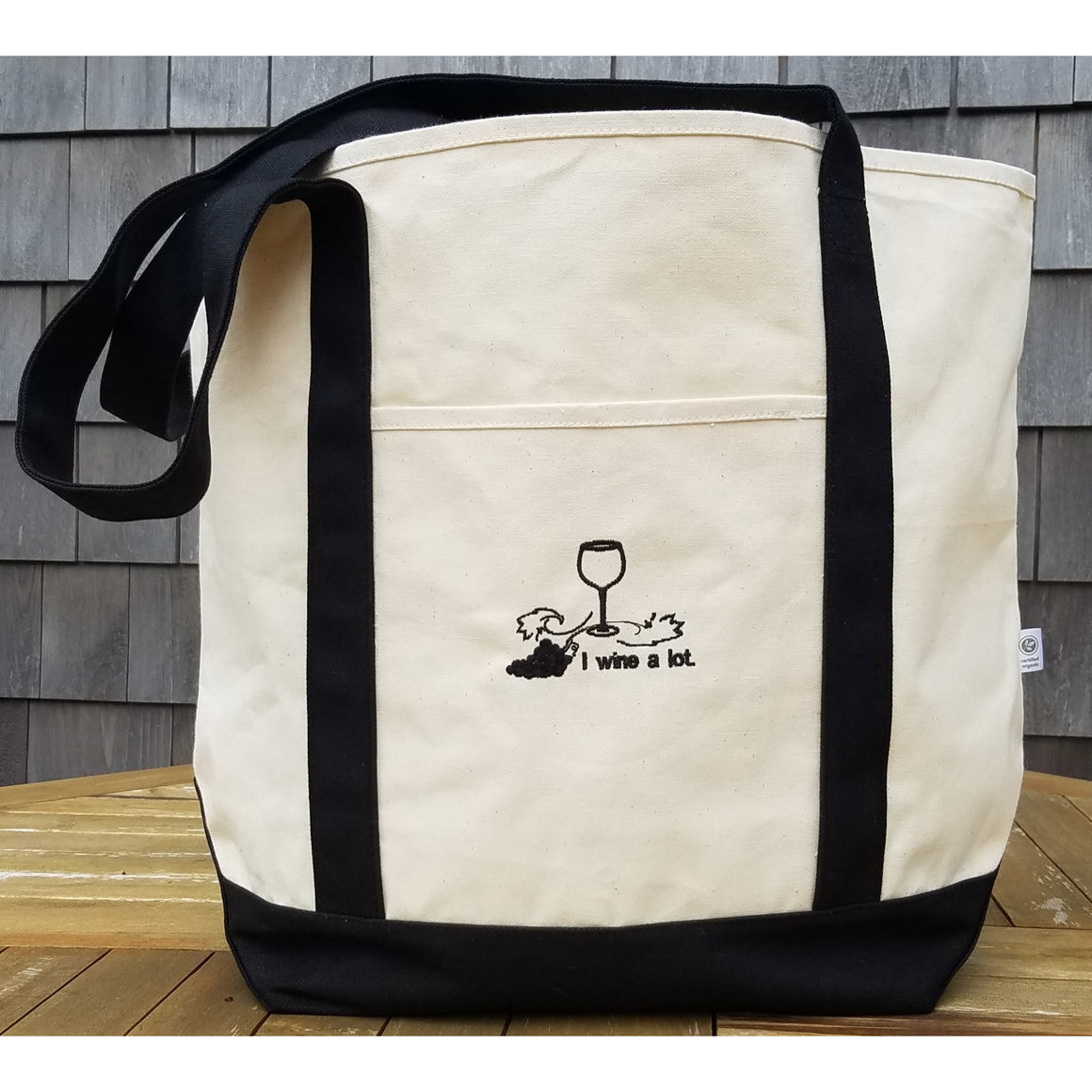 Tote I wine a lot - Simply Chickie
