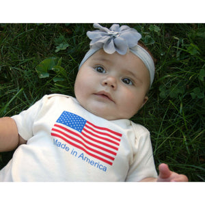 Organic Cotton Baby Onesie - Made in America - Simply Chickie