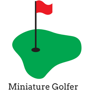 Hat miniature golfer