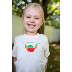Organic cotton kids t-shirt - Veggie - Simply Chickie