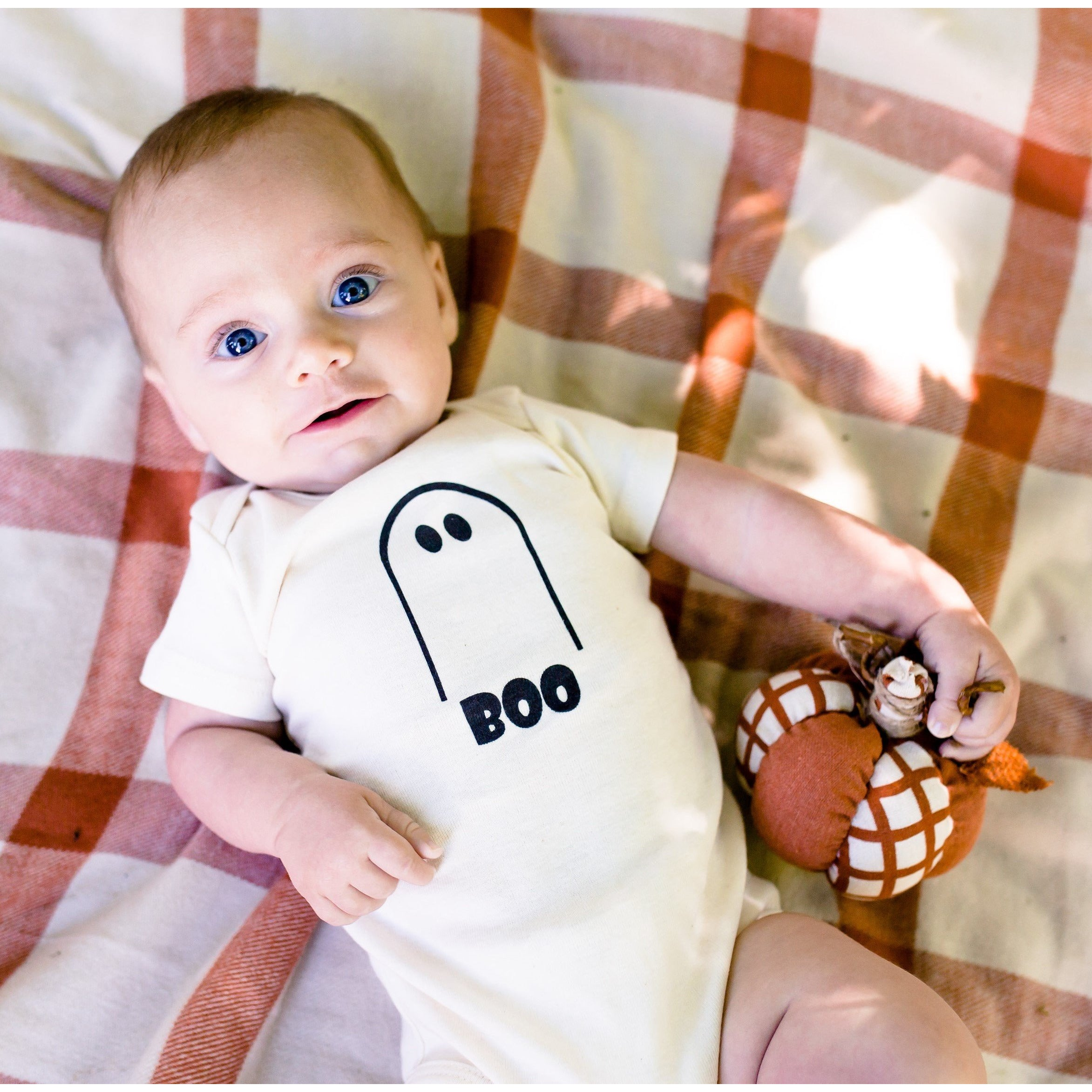 Organic cotton baby onesie - Halloween - Simply Chickie