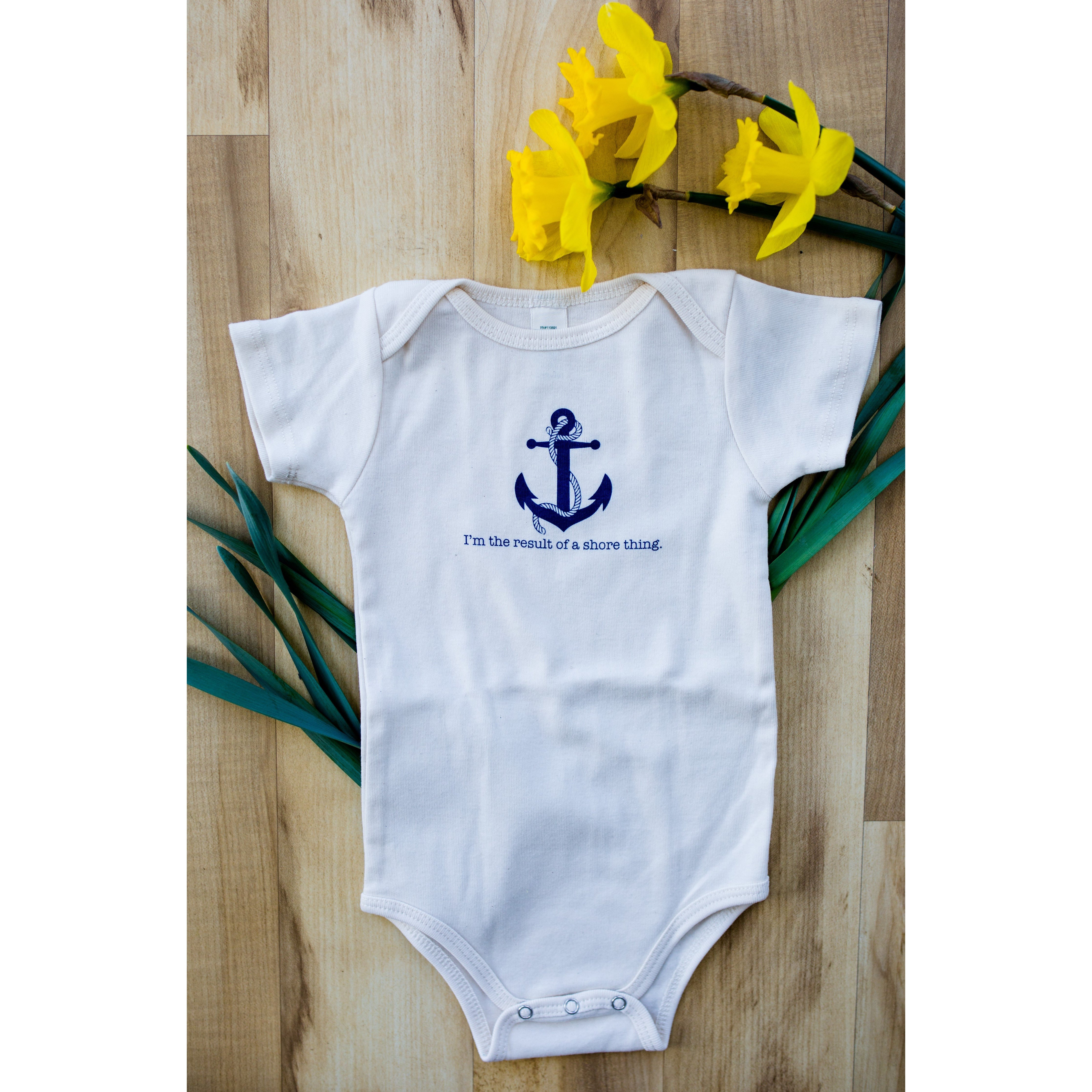 Deals Beach Baby Gift Set - 3 Different Complimentary Onesies! - Simply Chickie