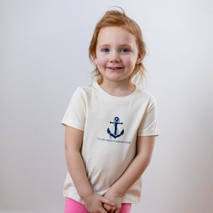 Organic cotton kids t-shirt - Nautical - Simply Chickie