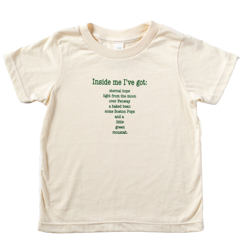 Organic kids t-shirt - Boston