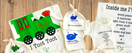 Organic cotton baby gift set - Baby Boy - Simply Chickie