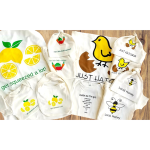 Deluxe Organic cotton baby gift set - Gender-neutral - Simply Chickie