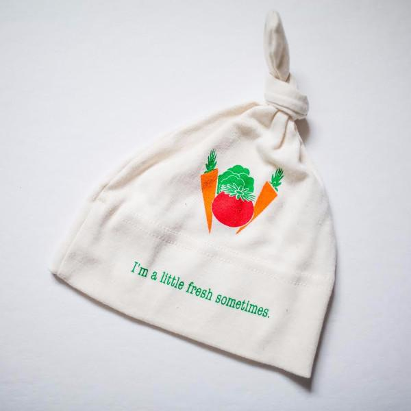 Organic cotton baby hat - Veggie - Simply Chickie
