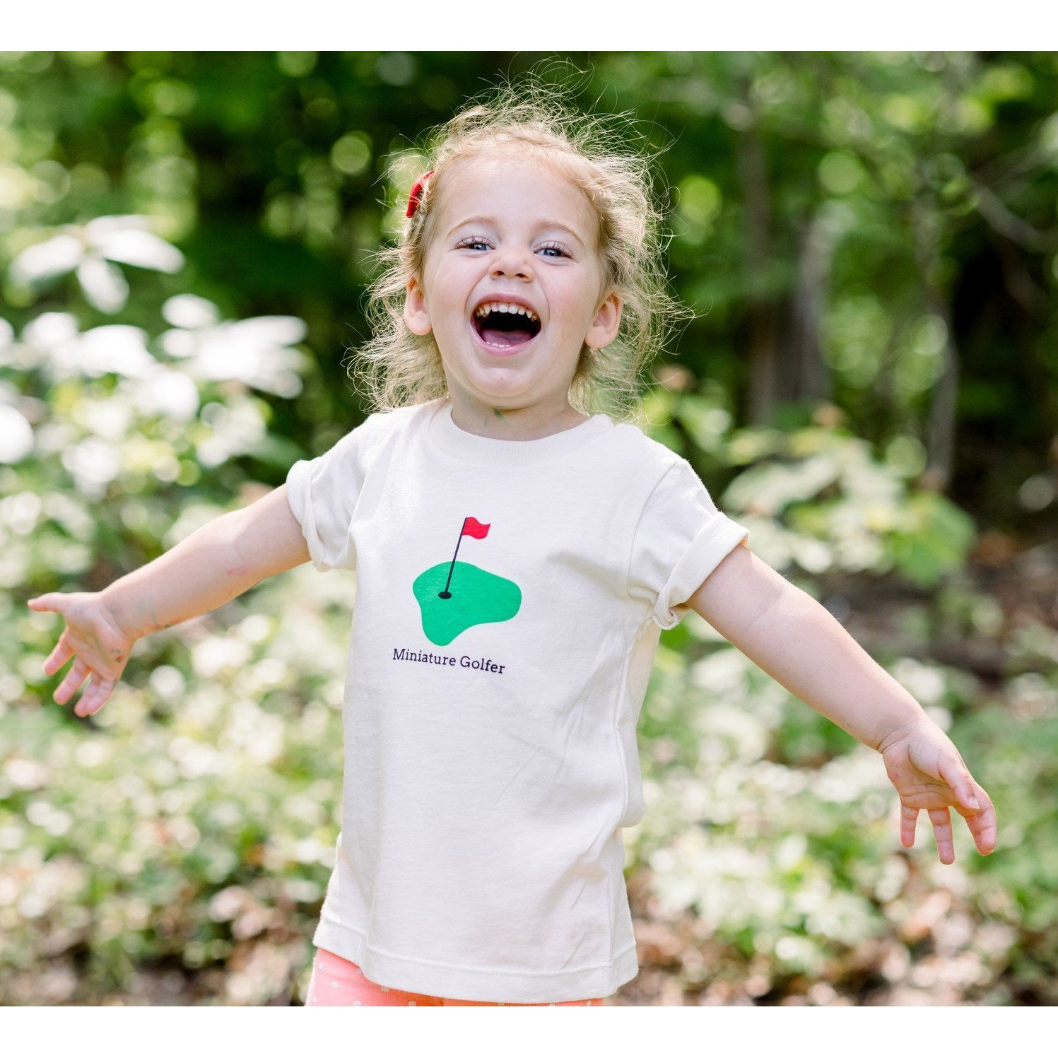 Organic cotton kids t-shirt - Golf - Simply Chickie