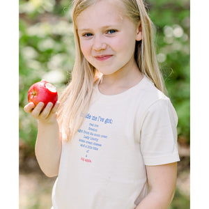 Organic cotton kids t-shirt - New York - Simply Chickie