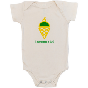 Organic cotton baby gift set - Ice cream - Simply Chickie