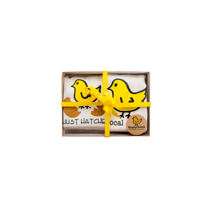 Organic cotton baby gift set - Chicks - Simply Chickie