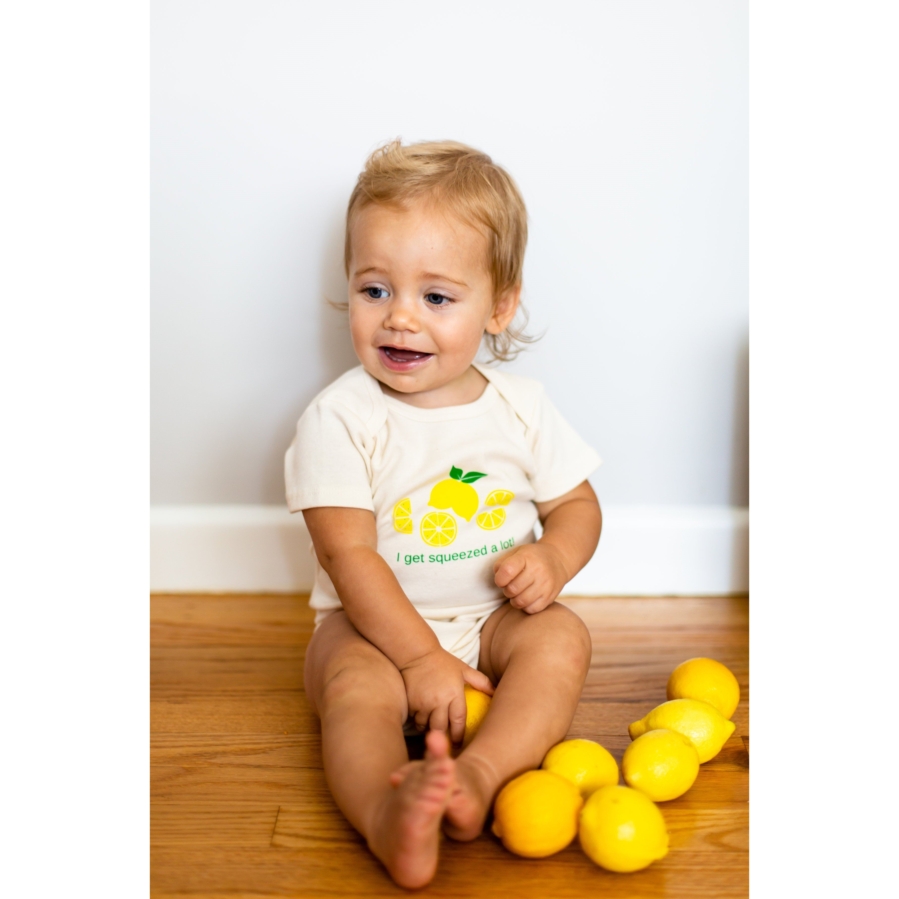 Organic cotton baby gift set - Lemon - Simply Chickie