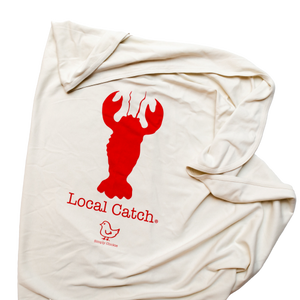 Organic Cotton Baby Blanket - Lobster