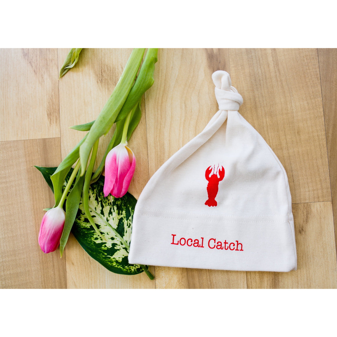 Organic cotton baby hat - Lobster - Simply Chickie