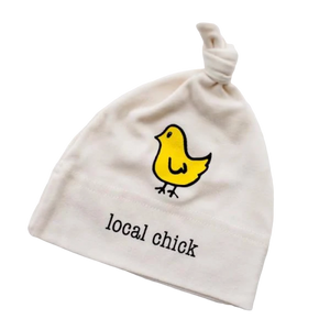 Organic cotton baby hat - Yellow Chick - Simply Chickie