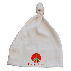 Peace Baby Baby Hat - Simply Chickie