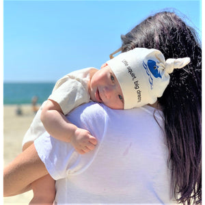 Organic cotton baby hat - Whale - Simply Chickie