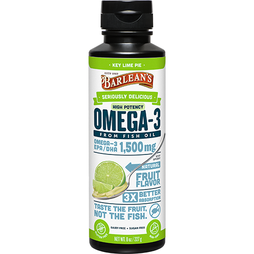 Omega 3 High Potency Fish Oil Key Lime Pie
