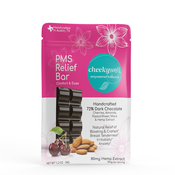 CheekyWell PMS Relief Bar - 80 mg CBD
