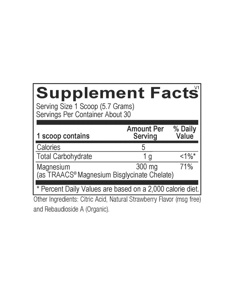 Reacted Magnesium (Powder or Capsules)