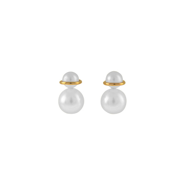 Binary Pearl Earrings