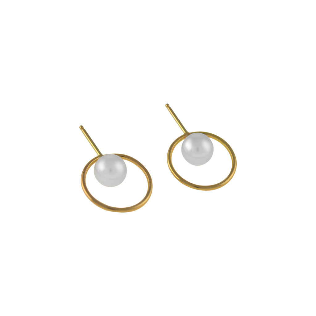 Grande Orbed Earrings