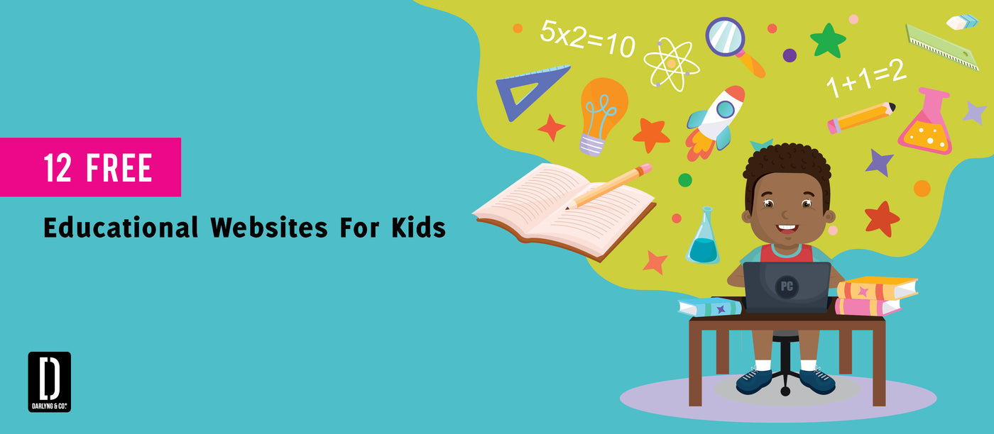 12 FREE EDUCATIONAL WEBSITES FOR KIDS