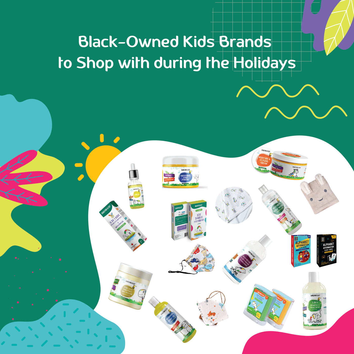 Black Owned Kids Brands To Shop With During The Holidays