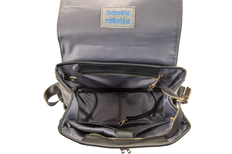 Darlyng & Co. + Minkeeblue Diaper/Work Bag Collab