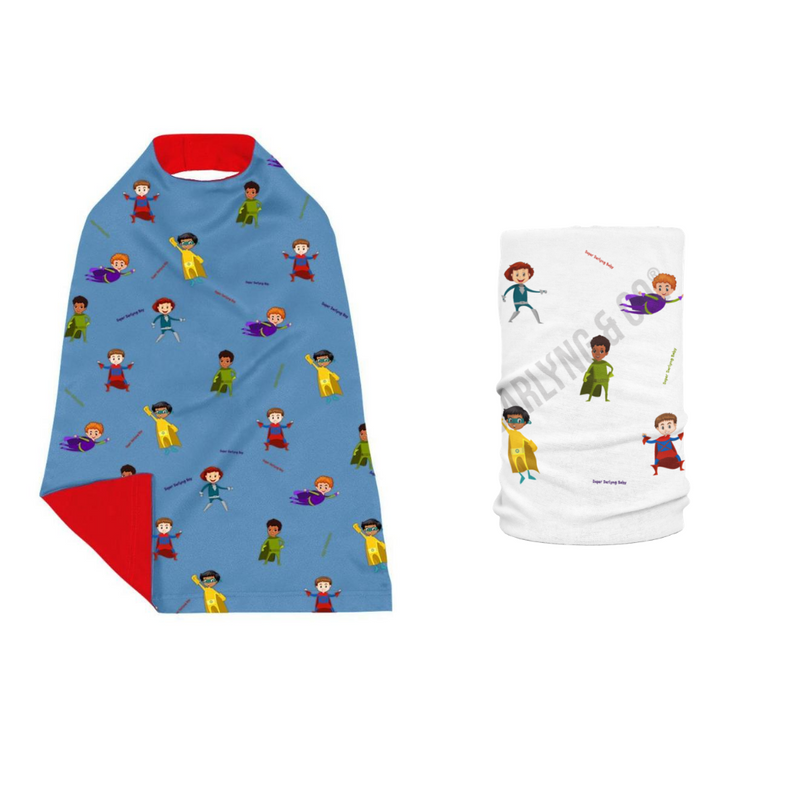 Superhero Cape (For Boy & Girl)